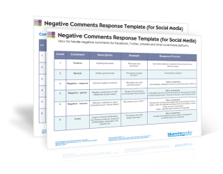 Negative Comments Response Template for Social Media
