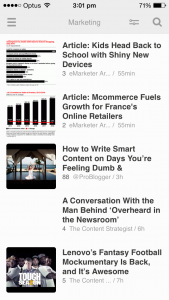 Find Content Feedly 4