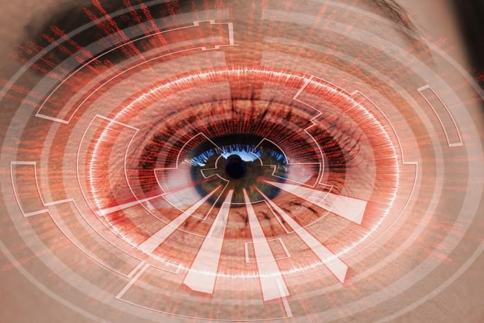 virtual reality eye