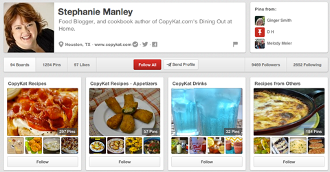 Food blogger Stephanie Manley image for Pinterest to drive traffic