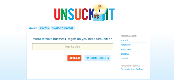 unsuck it for content writing tools