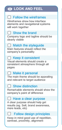 An Easy To Use Graphic Design Project Checklist For Websites