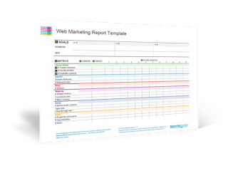 Web Marketing Report Template