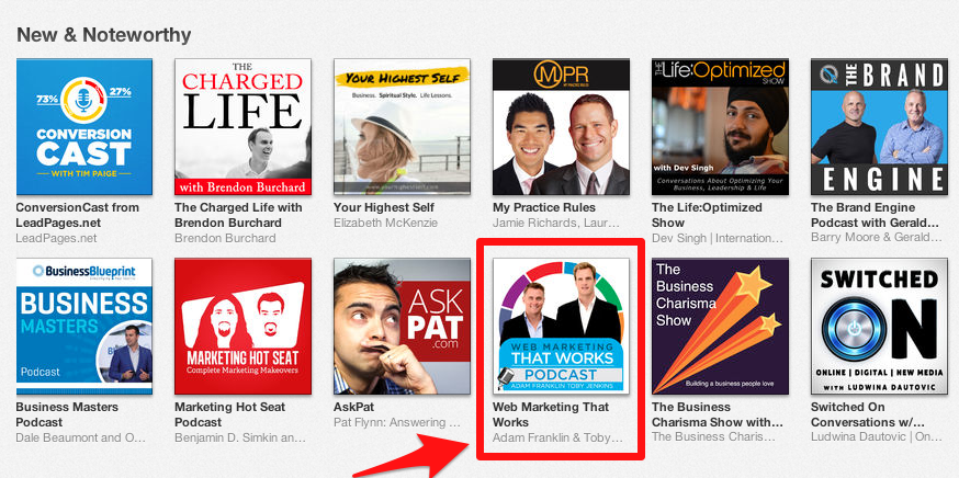 New and noteworthy on iTunes