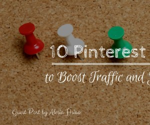 10 Pinterest Hacks to Boost Traffic - Header Image