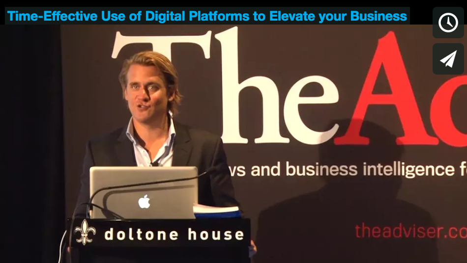 Time Effective Use of Digital Platforms