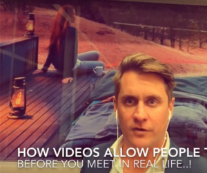 43 How videos allow people to know you - Adam Franklin