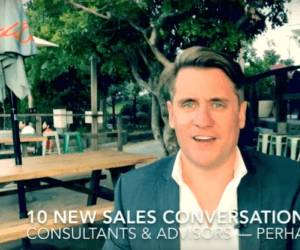 10 New sales conversations in 30 days