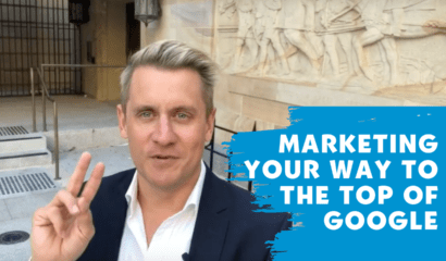 Marketing your way to the top of Google