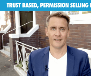 Trust based permission selling consultants THUMB